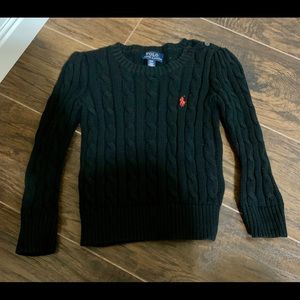 3T cable knit sweater